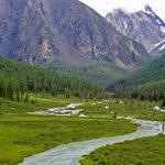 Характеристики долины и русла