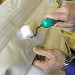 Подготовка судов из прорезиненной ткани